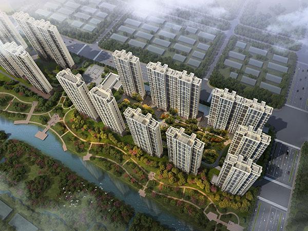晉江龍湖嘉天下十三期鳥瞰圖